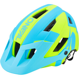 O'Neal Defender 2.0 Helm sliver neon yellow/blue